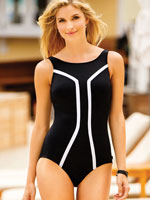 Surf & Sand Swimwear - Reebok® Hi Society High Neck Suit