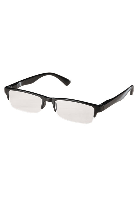 Black Half-Rim Readers