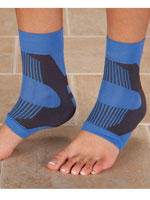 Supports & Braces - Light Support Ankle Sleeves, 1 Pair