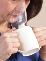Medicines & Treatments - Steam Inhaler with Mask
