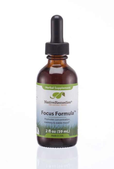 NativeRemedies® Focus Formula™ - 2 oz.