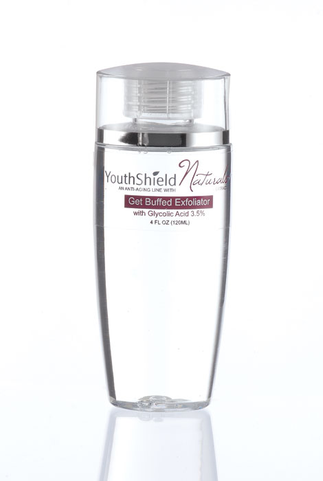 YouthShield Naturals™ Get Buffed Exfoliator - View 1