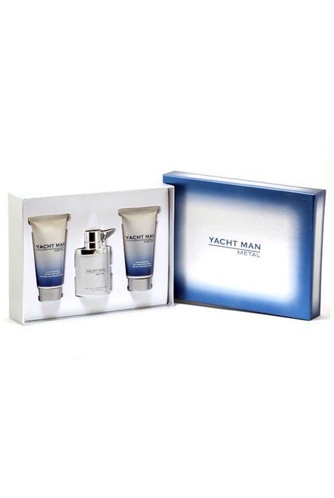 Yacht Man Metal Fragrance Set - View 1