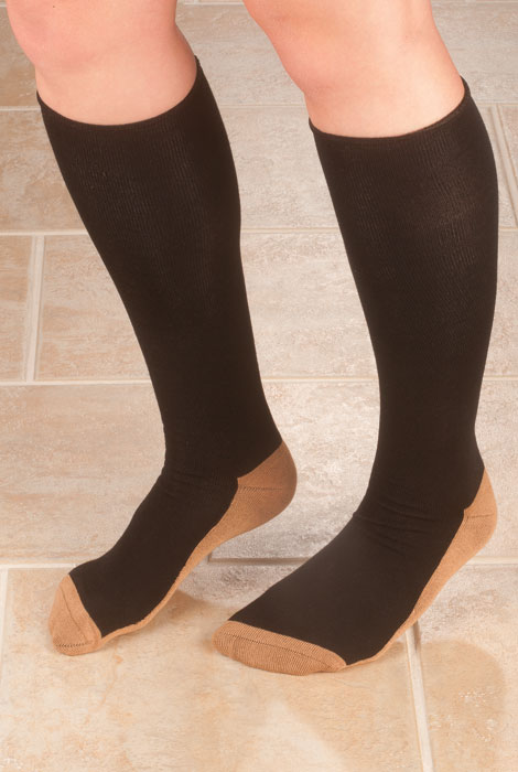 Copper Compression Socks - View 1