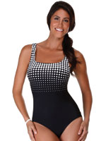 Swim - Reebok® Dots to Diamonds Tank Suit