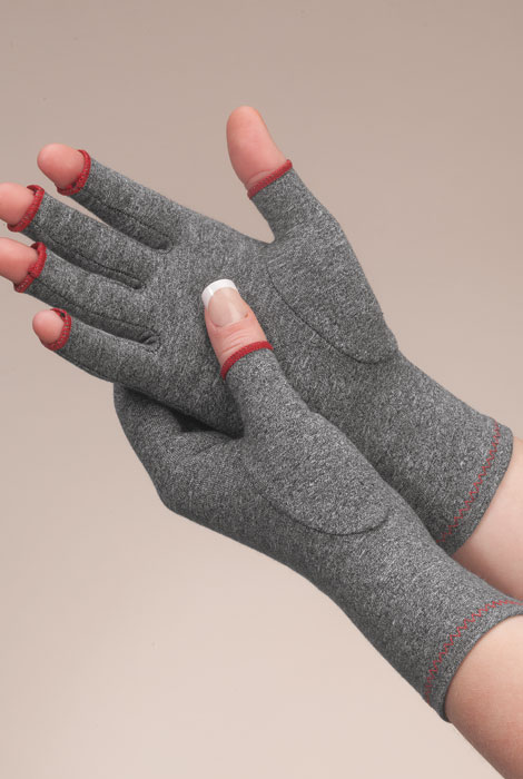 Colored Compression Gloves For Arthritis, 1 Pair - View 1