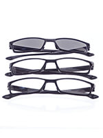 Travel Made Easy - Reading Glasses With Sunreader, Set of 3