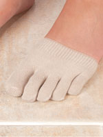Hosiery - Healthy Steps™ Anti-Slip Forefoot Toe Socks