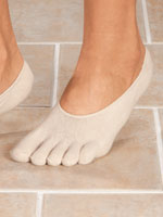 Hosiery - Healthy Steps™ Toe Socks with Gel Heels