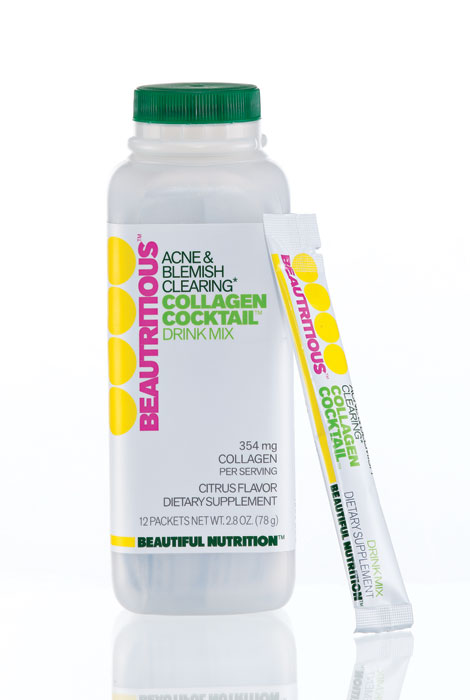 Beautritious™ Collagen Cocktail Acne & Blemish Drink Mix - View 1