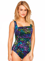 Longitude - Longitude® Sunshower Square Neck Tank Suit