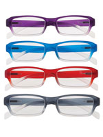 Eyewear - Colorful Ombré Readers with Spring Hinge