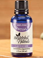 At Home Spa - Healthful™ Naturals Lavender Essential Oil - 30 ml