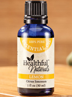 At Home Spa - Healthful™ Naturals Lemon Essential Oil, 30 ml