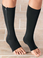 Foot Care - Magnetic Zipper Compression Socks
