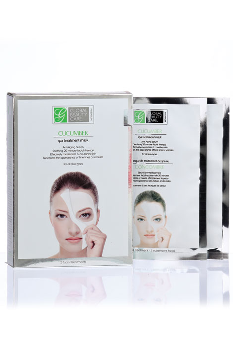 Cucumber Spa Treatment Masks