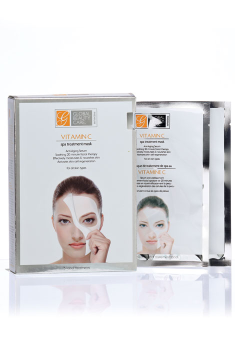 Vitamin C Spa Treatment Masks