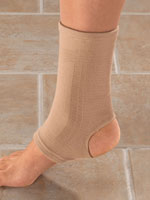 Supports & Braces - Antibacterial Nylon Ankle Support
