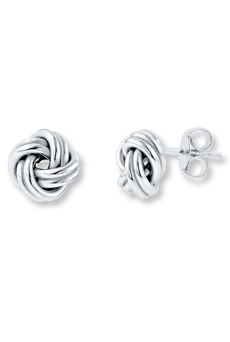 Love Knot Stud Earrings