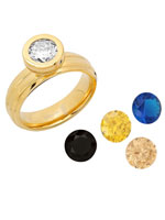 Jewelry - Interchangeable CZ Ring