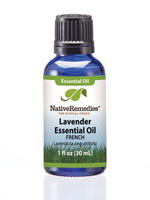 Essential Oils - Native Remedies® Lavender Flower (French) Essential Oil 30mL