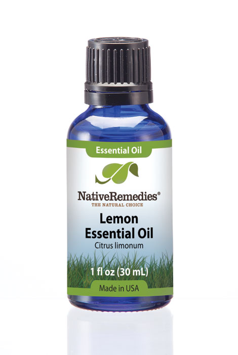 Native Remedies® Lemon Peel Essential Oil 30mL