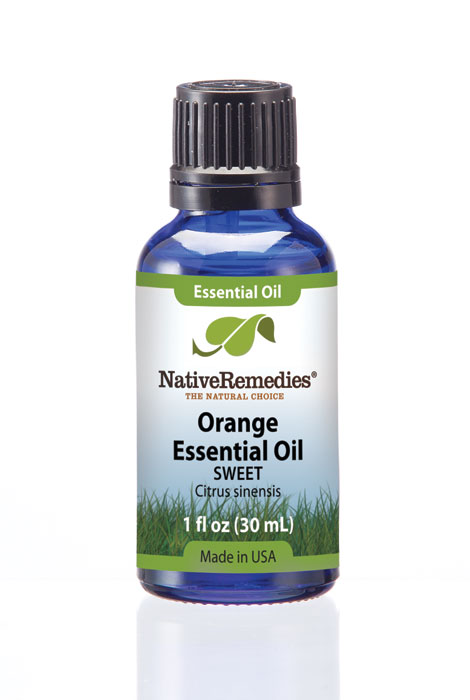 Native Remedies® Orange Essential Oil 30mL