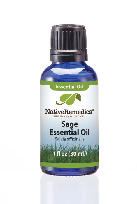 Native Remedies® Sage Essential Oil 30mL - View 1