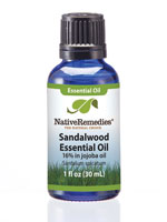 At Home Spa - Native Remedies® Sandalwood Essential Oil 30mL