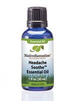 Essential Oils - Native Remedies® Headache Soothe™ Essential Oil Blend 30mL