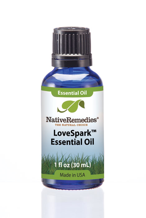 Native Remedies® LoveSpark™ Essential Oil Blend 30mL - View 1