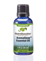 Medicines & Treatments - Native Remedies® AromaSleep™ Essential Oil Blend 30mL