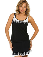 Clothing & Swim - Ride the Wave Tankini Top
