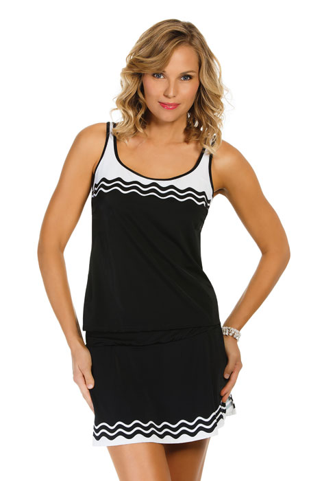Ride the Wave Tankini Top - View 1