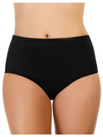 Surf & Sand Swimwear - 100% Chlorine Proof SportSupport™ Brief Bottom