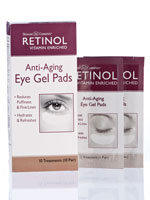 Eye Care & Eyewear - Skincare Cosmetics® Retinol Anti-Aging Eye Gel Pads 10 Pair