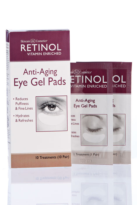 Retinol Anti-Aging Eye Gel Pads - View 1