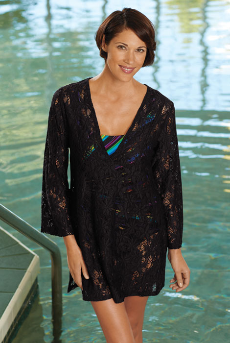 Lace Tunic Beach Cover Up