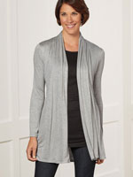 Tops - Open Front Cardigan