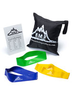 Fitness & Exercise - Resistance Loop Bands, Set of 3