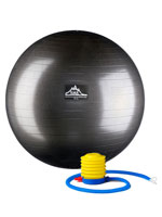 Fitness & Exercise - Professional Grade Anti-Burst Stability Ball with Pump