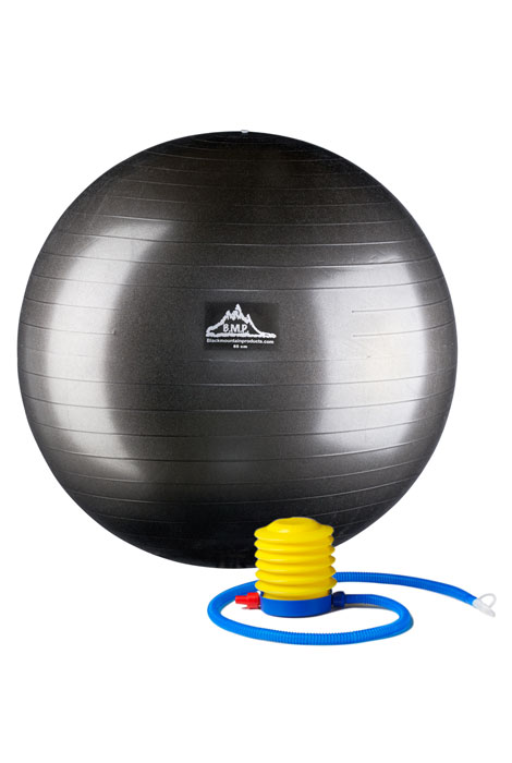 Professional Grade Anti-Burst Stability Ball with Pump