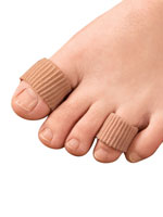 Foot Care - Silver Steps™ Antibacterial Gel Tubing - 1 Pair