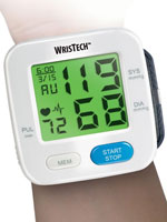 Fitness & Exercise - Color Changing Wrist Blood Pressure Monitor