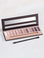 Eyes & Brows - Bellapierre® XII Eyeshadow Palette Go Natural