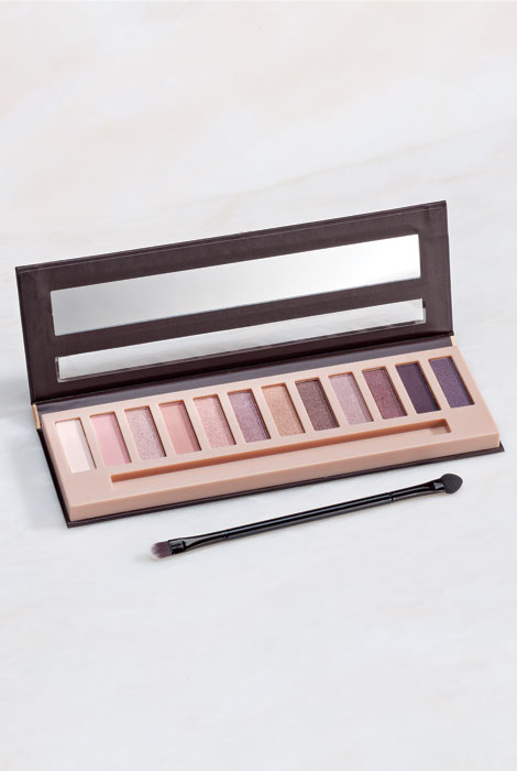 Bellapierre® XII Eyeshadow Palette Go Natural - View 1