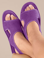 Sleepwear & Slippers - Terry Memory Foam Slippers