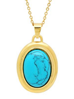 Jewelry - Turquoise Pendant Necklace