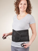 Supports & Braces - Back Support with Easy Tighten System