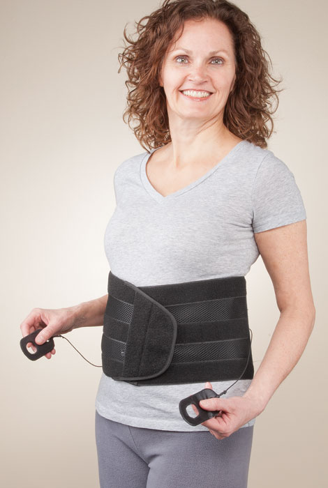 Back Support with Easy Tighten System